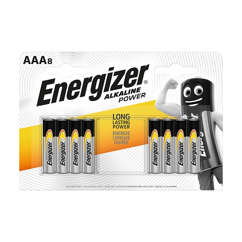 Energizer Alkaline Power AAA BP 8 x12