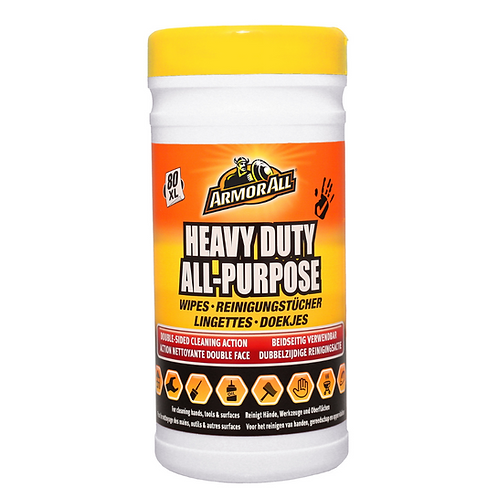 ArmorAll 80ct Heavy Duty All Purpose Wipes x6