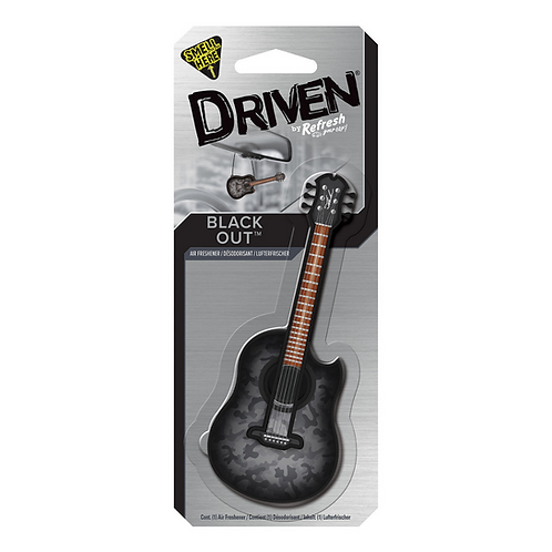 Driven Black Out Guitar x4