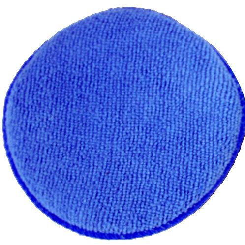 "Kent 5"" Blue Microfibre Polish App Pad x10"
