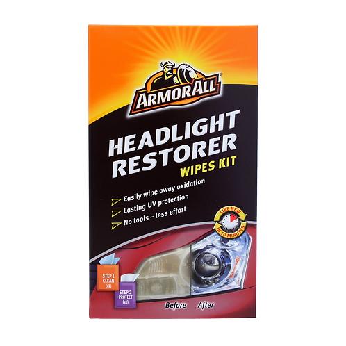 ArmorAll Headlight Restorer Wipes Kit x6