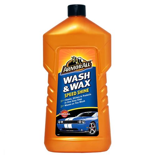 ArmorAll 1ltr Wash & Wax x6