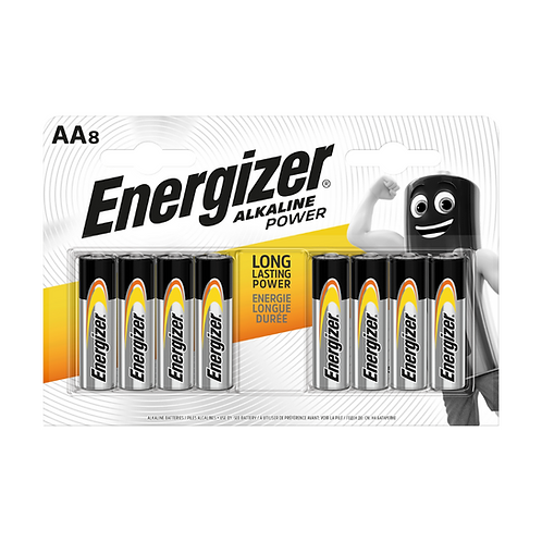 Energizer Alkaline Power AA BP 8 x12