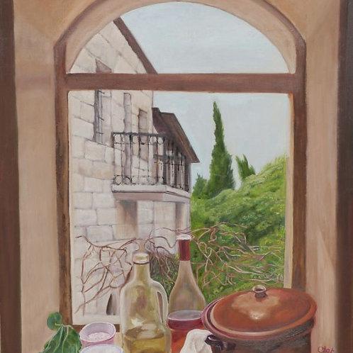 Jerusalem Painting - House in Jerusalem