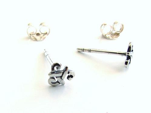 Boucles d'oreilles triskell
