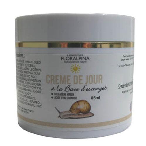 Crème De Jour à La Bave d'Escargot - 85 Ml