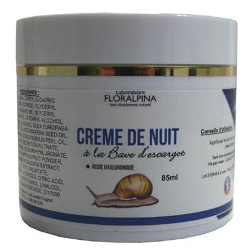 Crème De Nuit à La Bave d'Escargot - 85 Ml