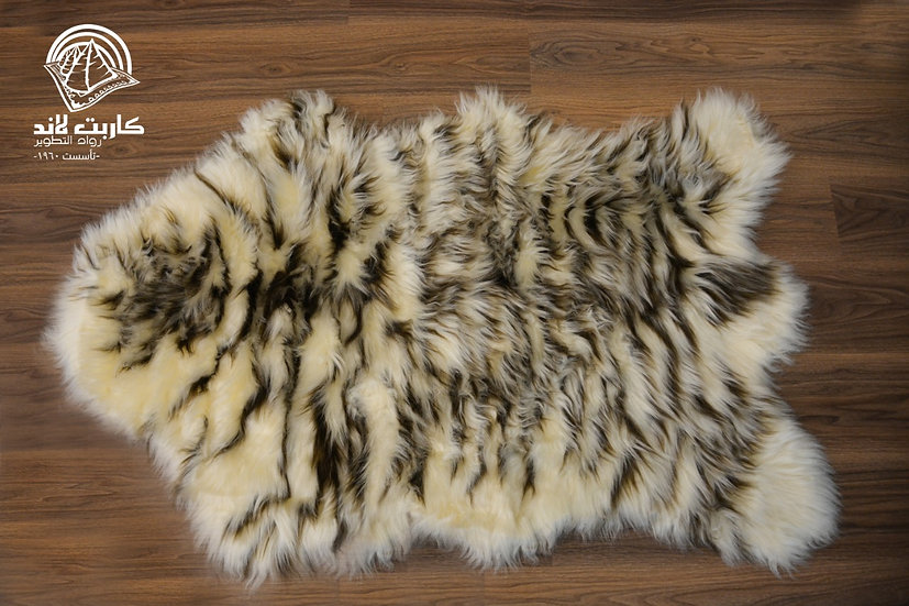 Fur carpets - 2 colors