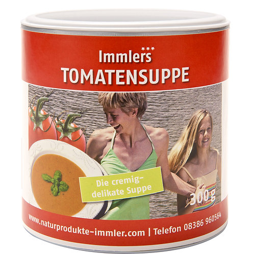 Immlers Dinkel-Tomatensuppe