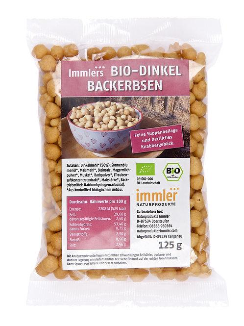 Immlers Bio-Dinkel Backerbsen