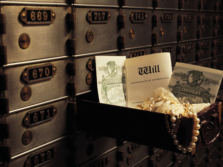 What's the difference between a bank safe deposit box and a private safe deposit box?