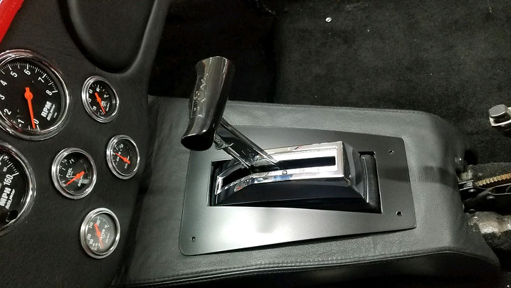 Finished Shifter Plate