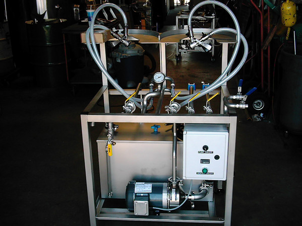 Two-Station Manual Keg Washer