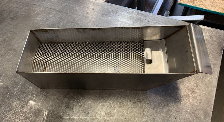 New Filter Basket With Removable Grate