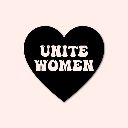 'UNITE WOMEN' Decal