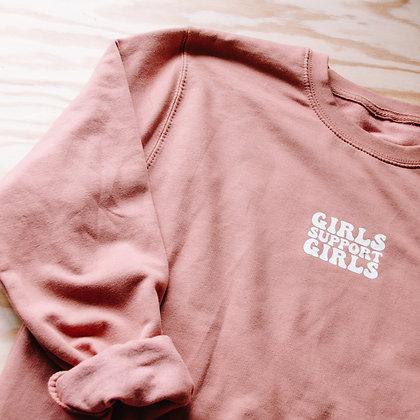 'GIRLS SUPPORT GIRLS' Sweater