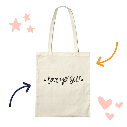 'Love Yo' Self' tote bag