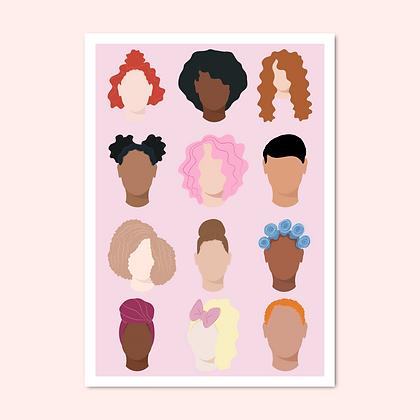 'All women' print
