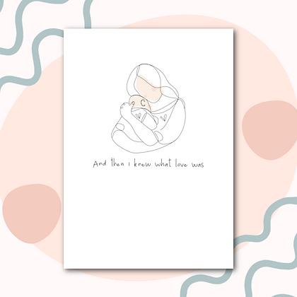 Mum and baby print