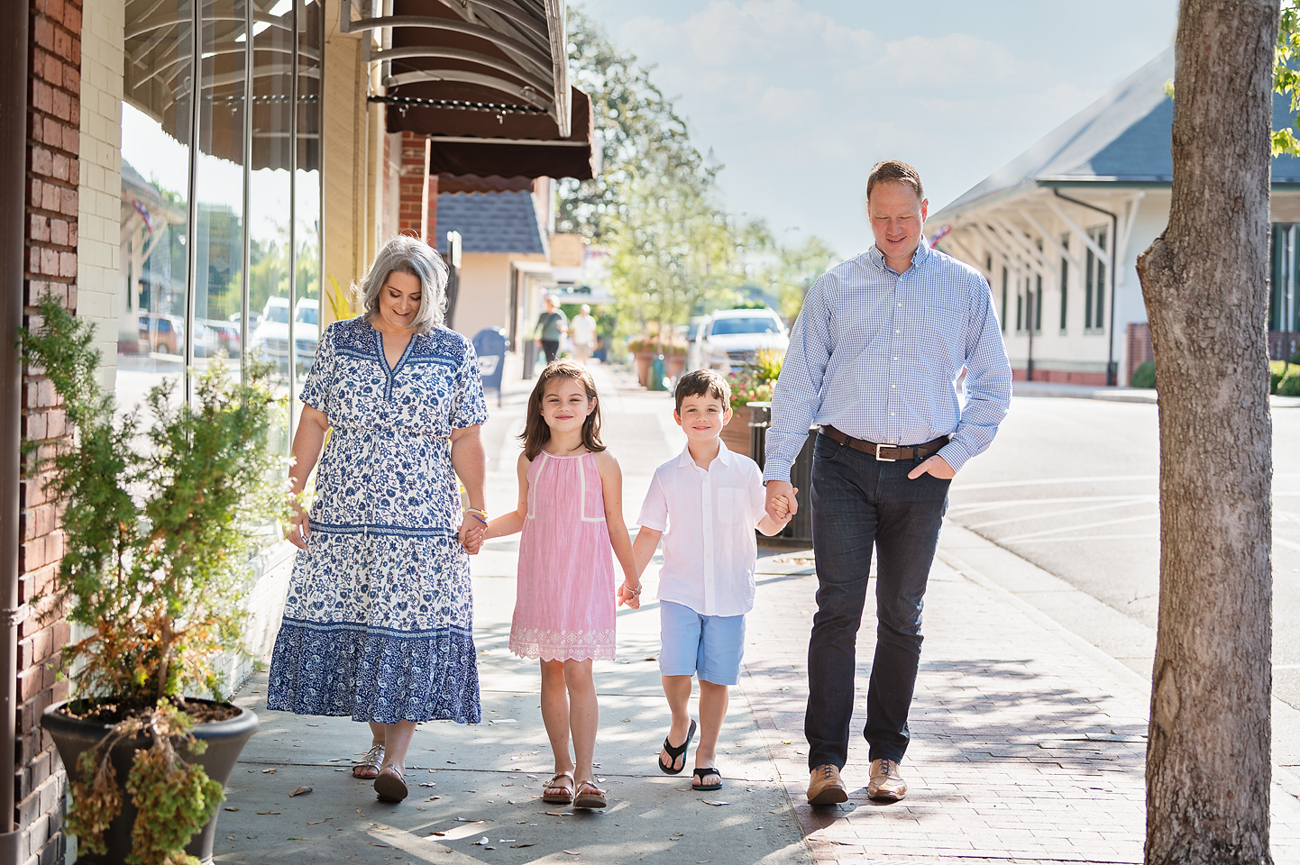 downtown southern pines family pictures photographer pinehurst professional