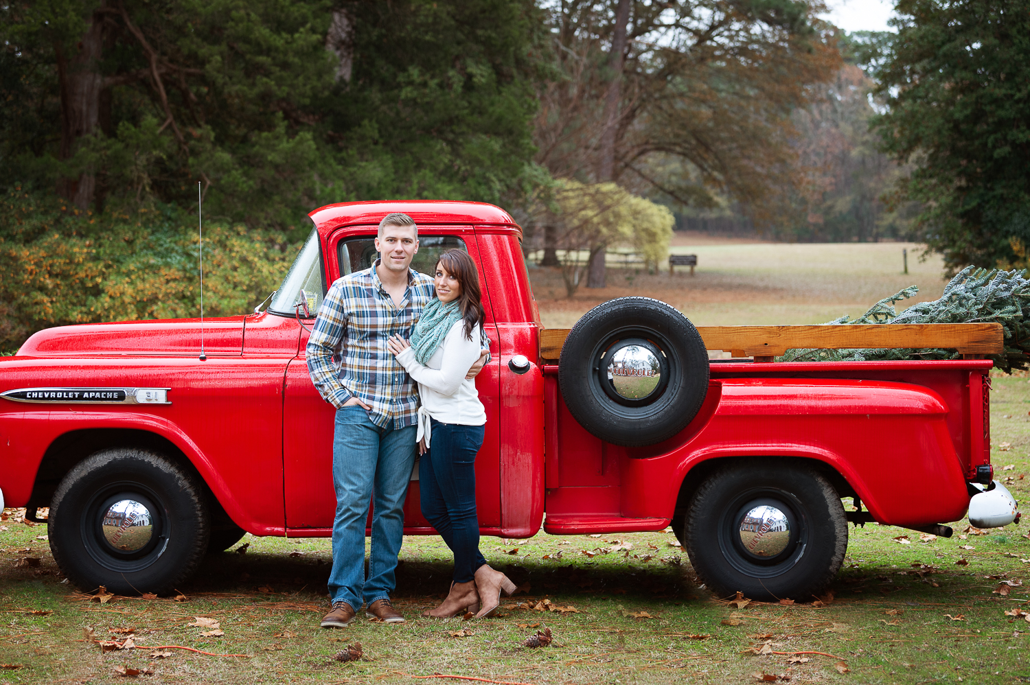 engagement session southern Pines