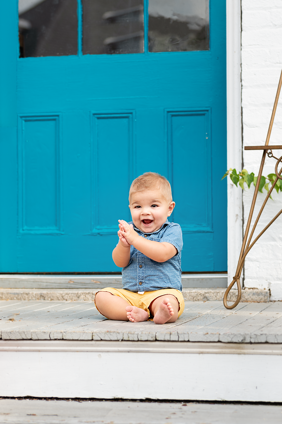 Pinehurst family photographer  downtown session pictures