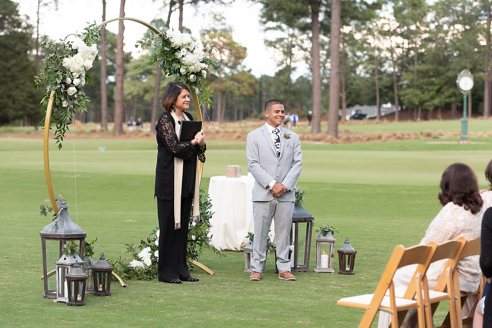 Pinehurst Wedding photographer Country Club pictures engagement photography