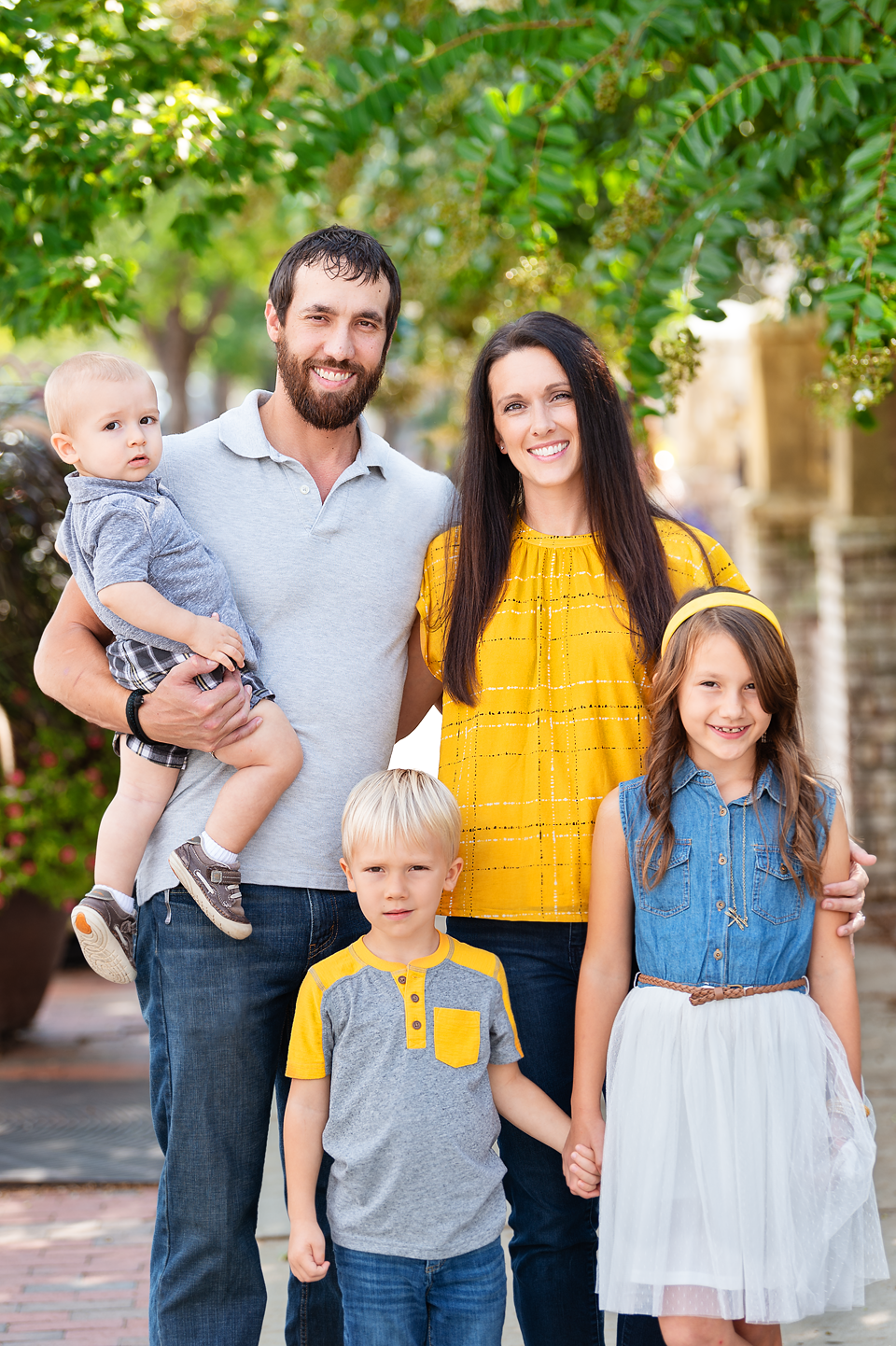 Southern Pines family picture photo session