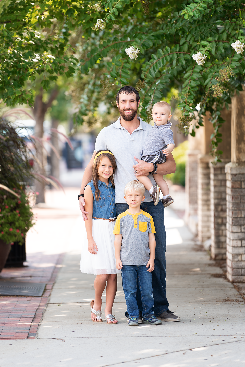 Pinehurst family photographer Aberdeen Southern Pines fall session family pictures
