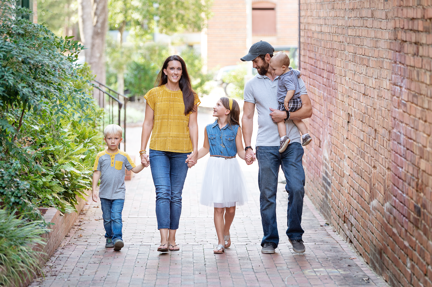 Southern Pines family session