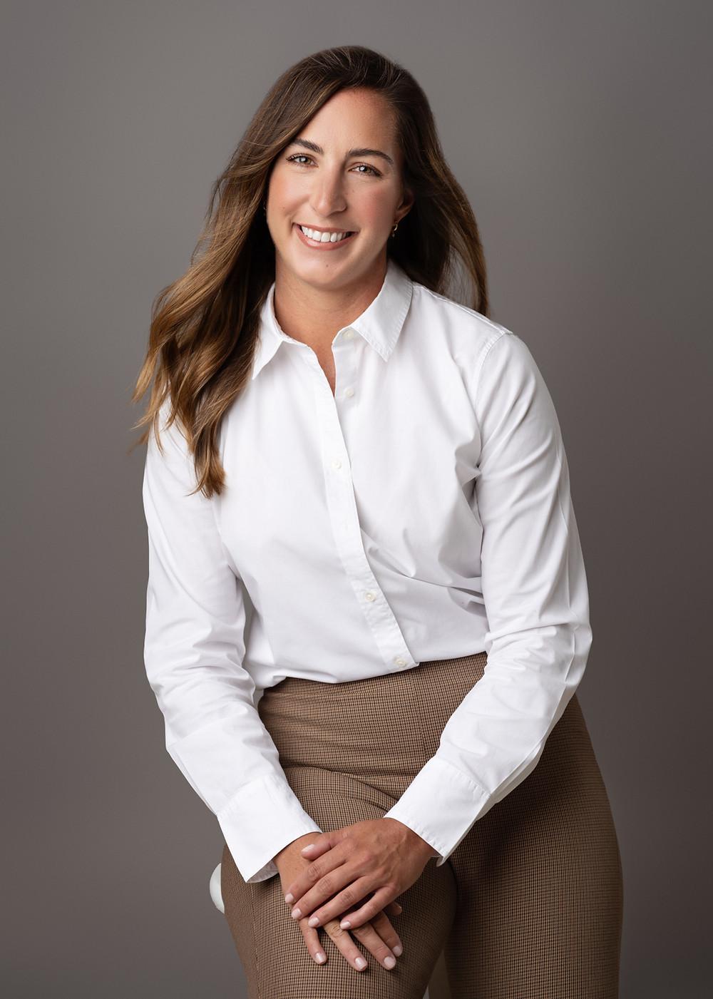 studio headshots business woman southern pines  lifestyle white background pinehurst realtor