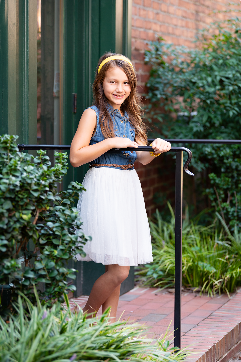 Downtown southern Pines broad street photography session Makana Photography