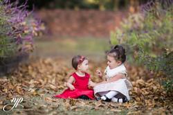 sisters outdoor portrait