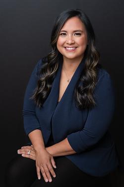 Studio business headshot woman southern Pines