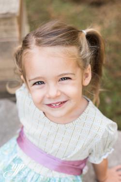 girl with beautiful dress closeup