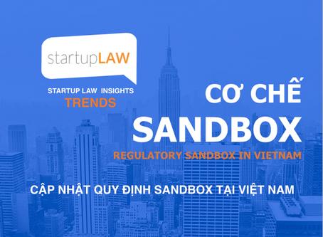 Cập nhật Quy định cơ chế Sandbox tại Việt nam