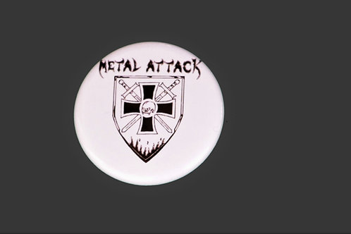 Badge Metal Attack