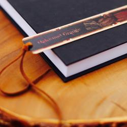 Vintage Oakwood Bookmark