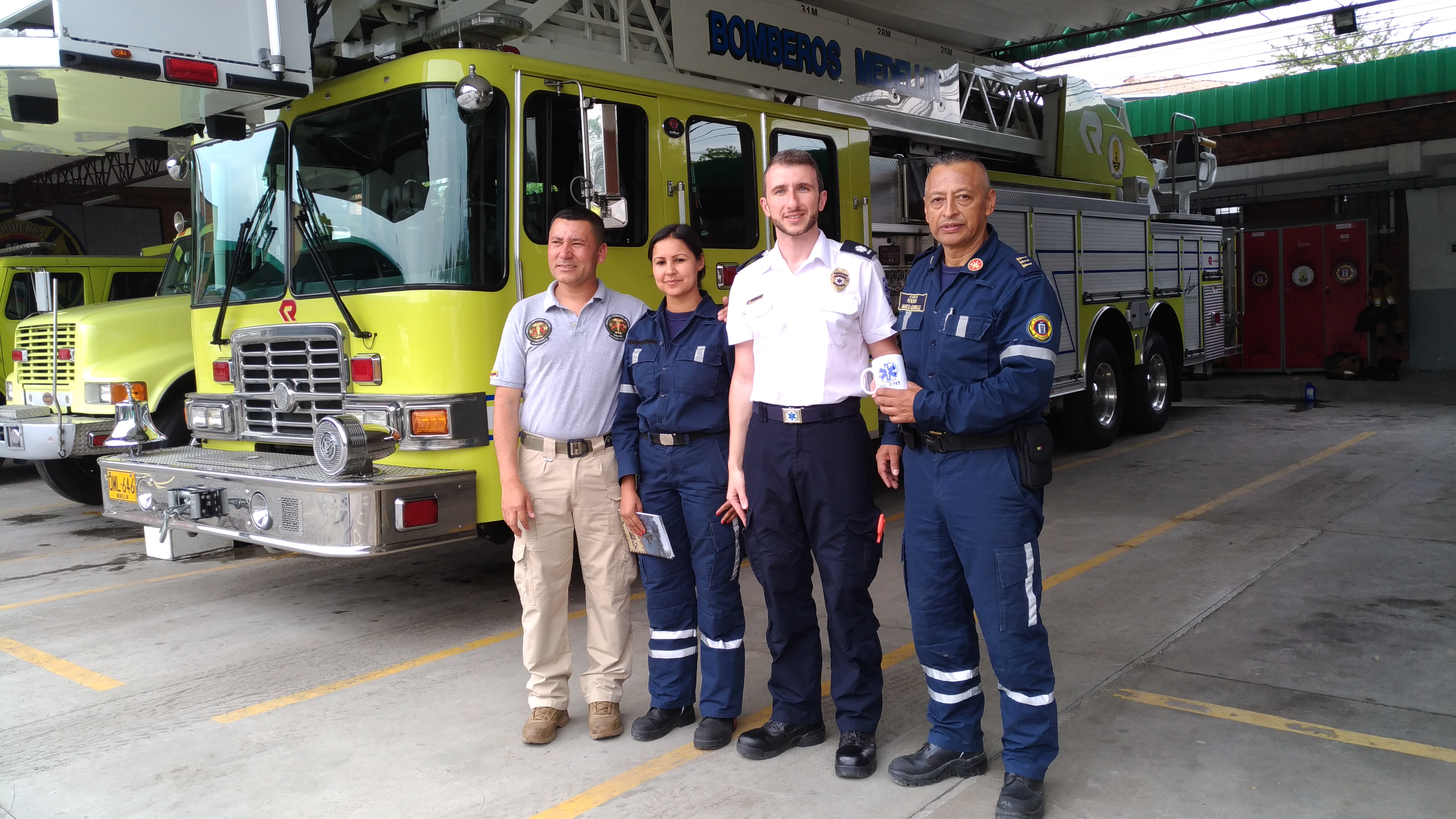 Medellin Fire Dept. (COLOMBIA)