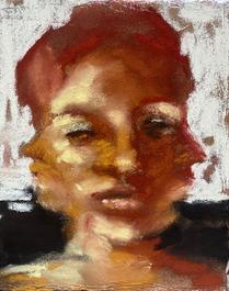 self portrait with three heads