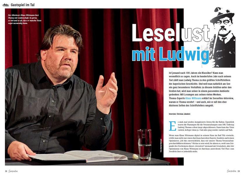 Interview in Seeseiten-Ausgabe Frühjahr 2021