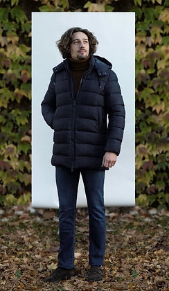 HERNO DOWN JACKET NAVY
