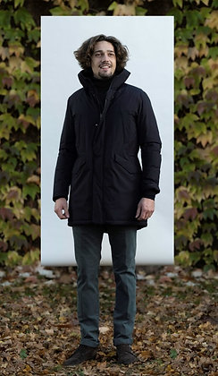 HERNO LAMINAR DOWN COAT BLACK