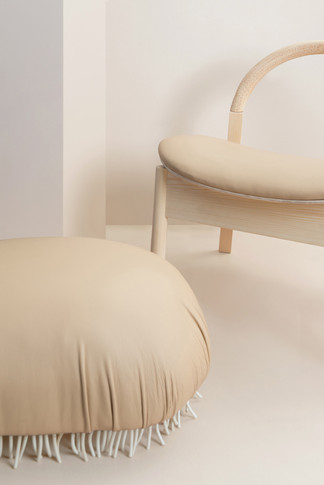 tick stool + patchy lounge chair