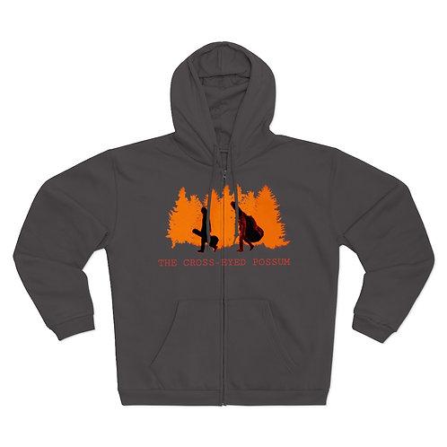 Orange Design Sweatshirt