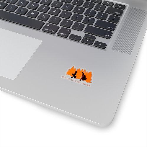 2x2 orange sticker
