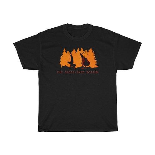 Orange picture shirt