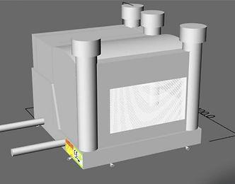 Modèle 3D château gonflable