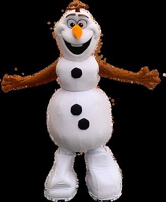 Mascotte d'Olaf de la reine des neiges