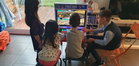 Borne d'arcade (situation réelle 1)